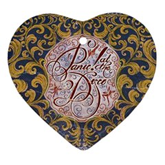 Panic! At The Disco Ornament (Heart)
