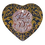 Panic! At The Disco Ornament (Heart)  Front