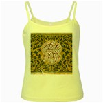 Panic! At The Disco Yellow Spaghetti Tank Front
