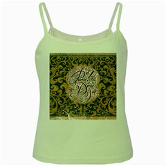 Panic! At The Disco Green Spaghetti Tank