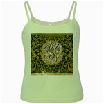 Panic! At The Disco Green Spaghetti Tank Front