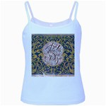 Panic! At The Disco Baby Blue Spaghetti Tank Front