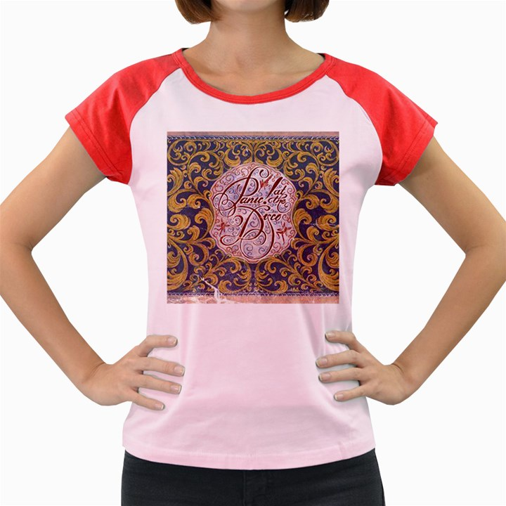 Panic! At The Disco Women s Cap Sleeve T-Shirt