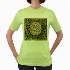 Panic! At The Disco Women s Green T Shirt