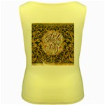 Panic! At The Disco Women s Yellow Tank Top Back