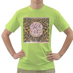 Panic! At The Disco Green T-Shirt Front