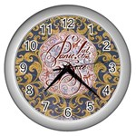 Panic! At The Disco Wall Clocks (Silver)  Front