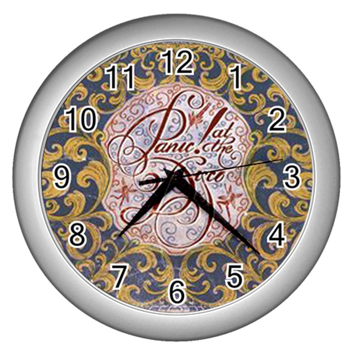 Panic! At The Disco Wall Clocks (Silver)