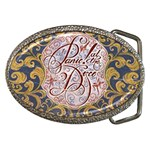 Panic! At The Disco Belt Buckles Front