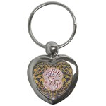 Panic! At The Disco Key Chains (Heart)  Front