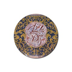 Panic! At The Disco Rubber Coaster (round)