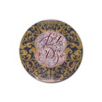 Panic! At The Disco Rubber Coaster (Round)  Front