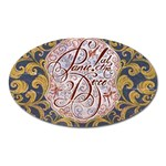 Panic! At The Disco Oval Magnet Front