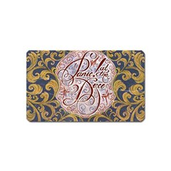 Panic! At The Disco Magnet (name Card)