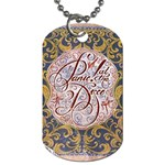 Panic! At The Disco Dog Tag (One Side) Front