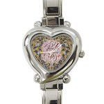 Panic! At The Disco Heart Italian Charm Watch Front