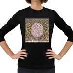 Panic! At The Disco Women s Long Sleeve Dark T-Shirts Front