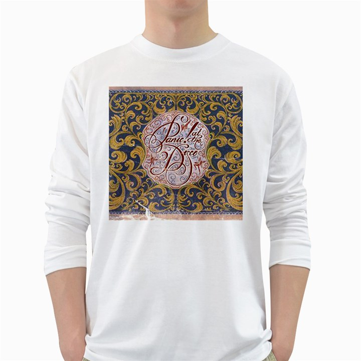 Panic! At The Disco White Long Sleeve T-Shirts