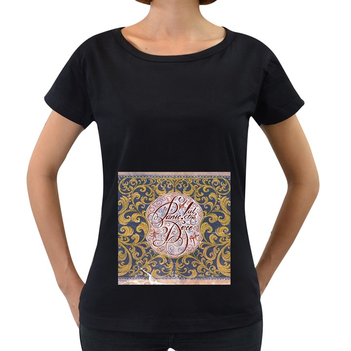 Panic! At The Disco Women s Loose-Fit T-Shirt (Black)