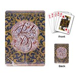 Panic! At The Disco Playing Card Back