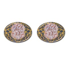Panic! At The Disco Cufflinks (Oval)