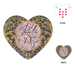 Panic! At The Disco Playing Cards (Heart)