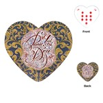 Panic! At The Disco Playing Cards (Heart)  Front