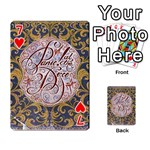 Panic! At The Disco Playing Cards 54 Designs  Front - Heart7