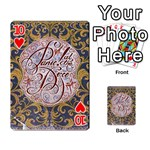 Panic! At The Disco Playing Cards 54 Designs  Front - Heart10
