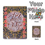 Panic! At The Disco Playing Cards 54 Designs  Front - Joker2