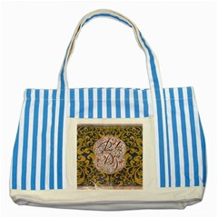 Panic! At The Disco Striped Blue Tote Bag
