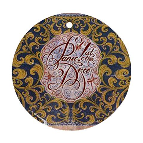 Panic! At The Disco Round Ornament (Two Sides)