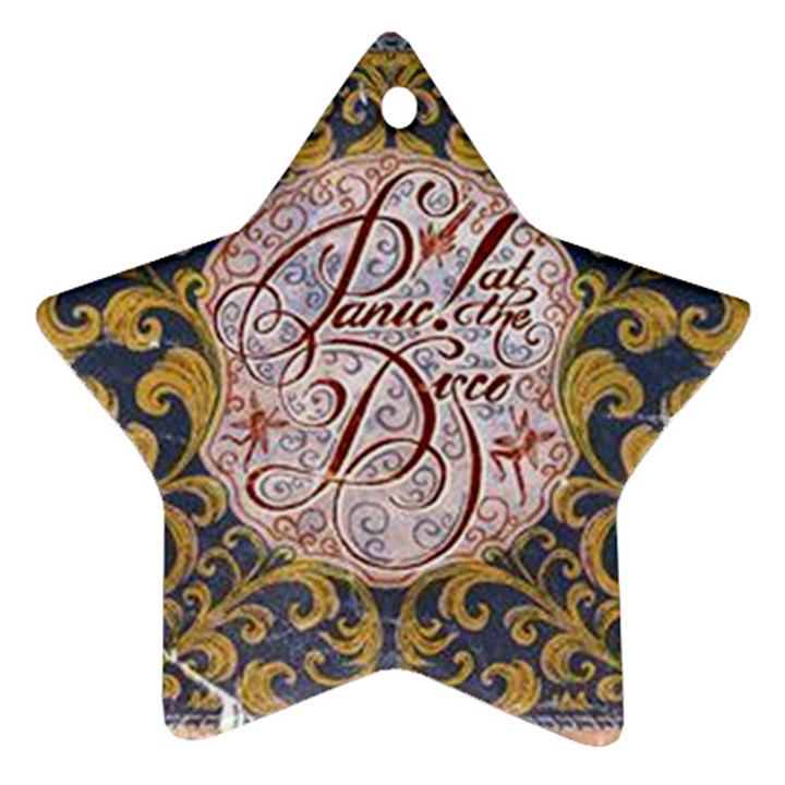 Panic! At The Disco Star Ornament (Two Sides)