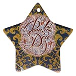 Panic! At The Disco Star Ornament (Two Sides)  Back