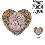 Panic! At The Disco Playing Cards 54 (Heart)  Front - Diamond4