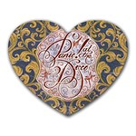 Panic! At The Disco Heart Mousepads Front