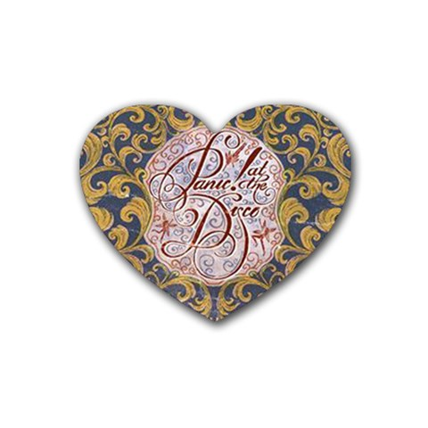 Panic! At The Disco Rubber Coaster (Heart)