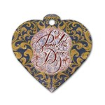 Panic! At The Disco Dog Tag Heart (Two Sides) Back