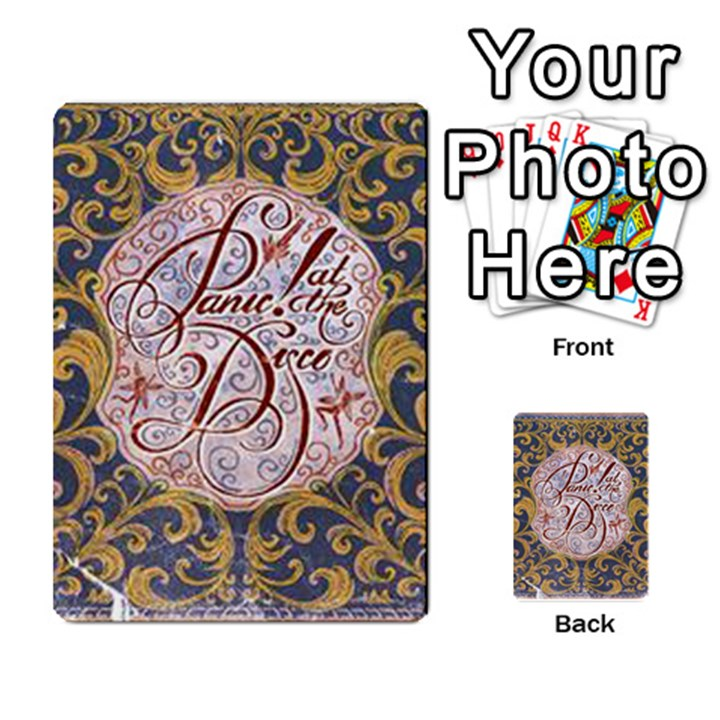 Panic! At The Disco Multi-purpose Cards (Rectangle)
