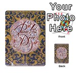 Panic! At The Disco Multi-purpose Cards (Rectangle)  Back 53