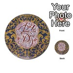 Panic! At The Disco Multi-purpose Cards (Round)  Back 17