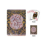 Panic! At The Disco Playing Cards (Mini)  Back