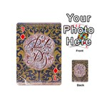 Panic! At The Disco Playing Cards 54 (Mini)  Front - Diamond7