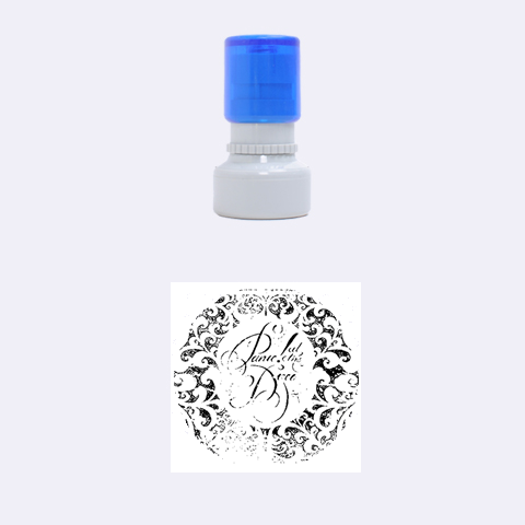 Panic! At The Disco Rubber Round Stamps (Small)