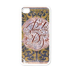 Panic! At The Disco Apple Iphone 4 Case (white)