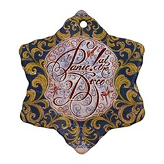 Panic! At The Disco Snowflake Ornament (2-Side)