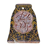 Panic! At The Disco Bell Ornament (2 Sides) Back