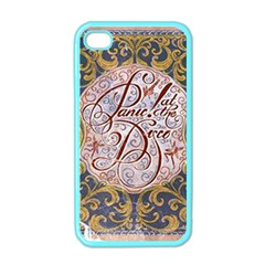 Panic! At The Disco Apple Iphone 4 Case (color)