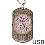Panic! At The Disco Dog Tag USB Flash (Two Sides)  Front