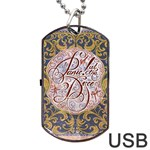 Panic! At The Disco Dog Tag USB Flash (Two Sides)  Back